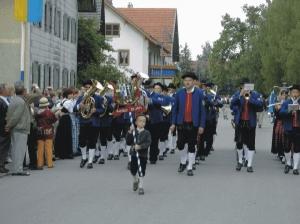 Marschmusikwettbewerb in Dirlewang