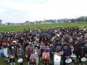 Bezirksmusikfest Umzug & Zelt_11