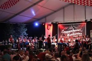 Jubiläumsfestzelt Loppenhausen Musikalischer Wettstreit