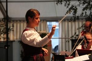 Jubiläumsfestzelt Loppenhausen Tag der Nachbarschaft